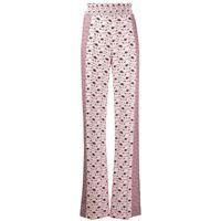 Prada pantaloni con stampa paisley - rosa