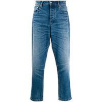 AMI Paris jeans con cinque tasche - blu