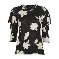 Proenza Schouler t-shirt con stampa - di colore nero