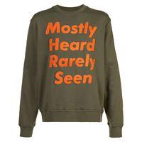 Mostly Heard Rarely Seen logo patch sweatshirt - verde