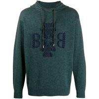 Barrie maglione con logo - blu