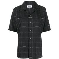 AMBUSH camicia a quadri - nero