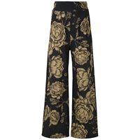 Osklen pantaloni a fiori - nero