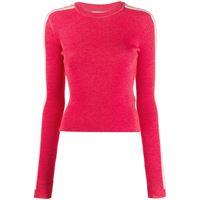 Fiorucci maglione con logo - rosso