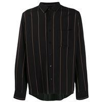 AMI Paris camicia con taschino - nero