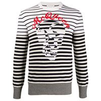 Alexander McQueen maglione a girocollo - bianco