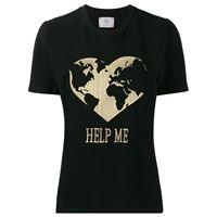 Alberta Ferretti t-shirt help me - nero