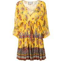 Alexis abito holli a fiori - giallo