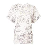 3.1 Phillip Lim t-shirt con stampa - bianco