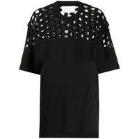 Maison Margiela t-shirt oversize - nero