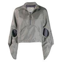 A-COLD-WALL* giacca a vento con cappuccio - grigio
