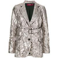 Sies Marjan blazer metallizzato - effetto metallizzato
