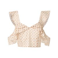 Olympiah top orchid corto - areia