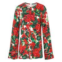 Dolce & Gabbana blusa portofino con stampa - verde