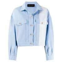 Mr & Mrs Italy giacca denim - blu