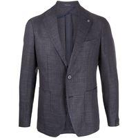 Tagliatore blazer sartoriale slim - di colore blu