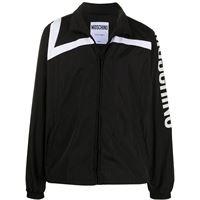Moschino - giacca sportiva - men - poliammide/poliestere/acetato/cupro - 46, 48, 50, 52, 54, 44 - di colore nero