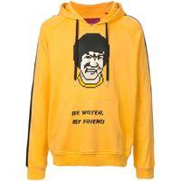 Mostly Heard Rarely Seen 8-Bit felpa be water my friend - giallo