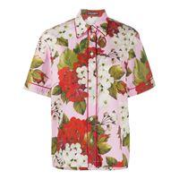 Dolce & Gabbana camicia a fiori - di colore rosa