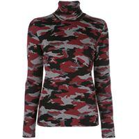 Aztech Mountain maglione a collo alto matterhorn - rosso