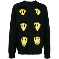 Raf Simons maglione con applicazioni - nero