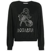 Alberta Ferretti t-shirt a maniche lunghe aquarius - nero