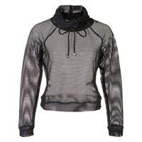 Koral maglione pump traforato - nero