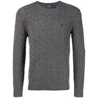 Polo Ralph Lauren maglione con ricamo - grigio