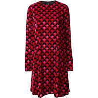 Rochas vestito a maniche lunghe - di colore rosso
