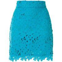 Bambah minigonna con ricamo - blu