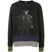 Undercover maglione con stampa - nero