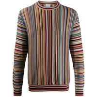 PAUL SMITH maglione a righe - rosso