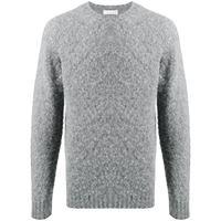 Mackintosh maglione a girocollo hutchins - grigio