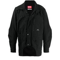 A-COLD-WALL* giacca con cappuccio diesel red tag x a-cold-wall* - nero