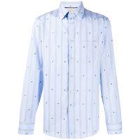 Gucci camicia con stampa - blu