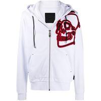Philipp Plein giacca sportiva - bianco