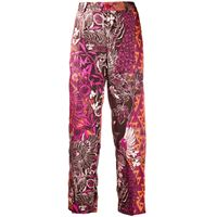 F.R.S For Restless Sleepers pantaloni con stampa - marrone