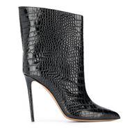 Alexandre Vauthier stivali con tacco stiletto - nero