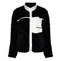AMBUSH giacca con stampa - nero