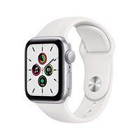 Apple novità Apple watch se (gps, 40 mm) cassa in alluminio color argento con cinturino sport bianco