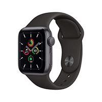 Apple novità Apple watch se (gps, 40 mm) cassa in alluminio grigio siderale con cinturino sport nero