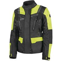 Hevik giacca 2 strati stelvio nero giallo | Hevik