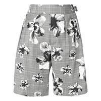 NEIL BARRETT shorts donna npa451l017s1319 lana grigio