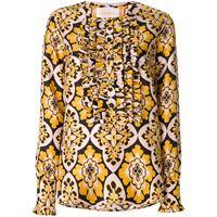 La Doublej camicia 'palazzo' - giallo
