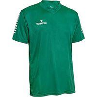 Derbystar contra trikot, maglia da bambino, verde/bianco, 140