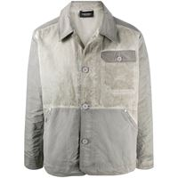 A-COLD-WALL* giacca con effetto vissuto - grigio