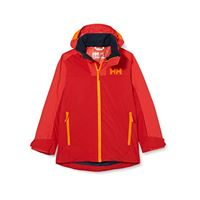 Helly Hansen terrain jacke, giacca bambini, lampone, 16