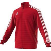 adidas tiro19 tr jkt, giacca sportiva. Uomo, power red/red/white, lt3