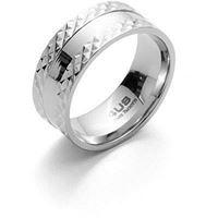 4us cesare paciotti steel ring 4uan3519/28 gioiello uomo anello acciaio
