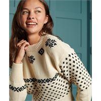 Superdry maglione d'ispirazione nordica fredericka